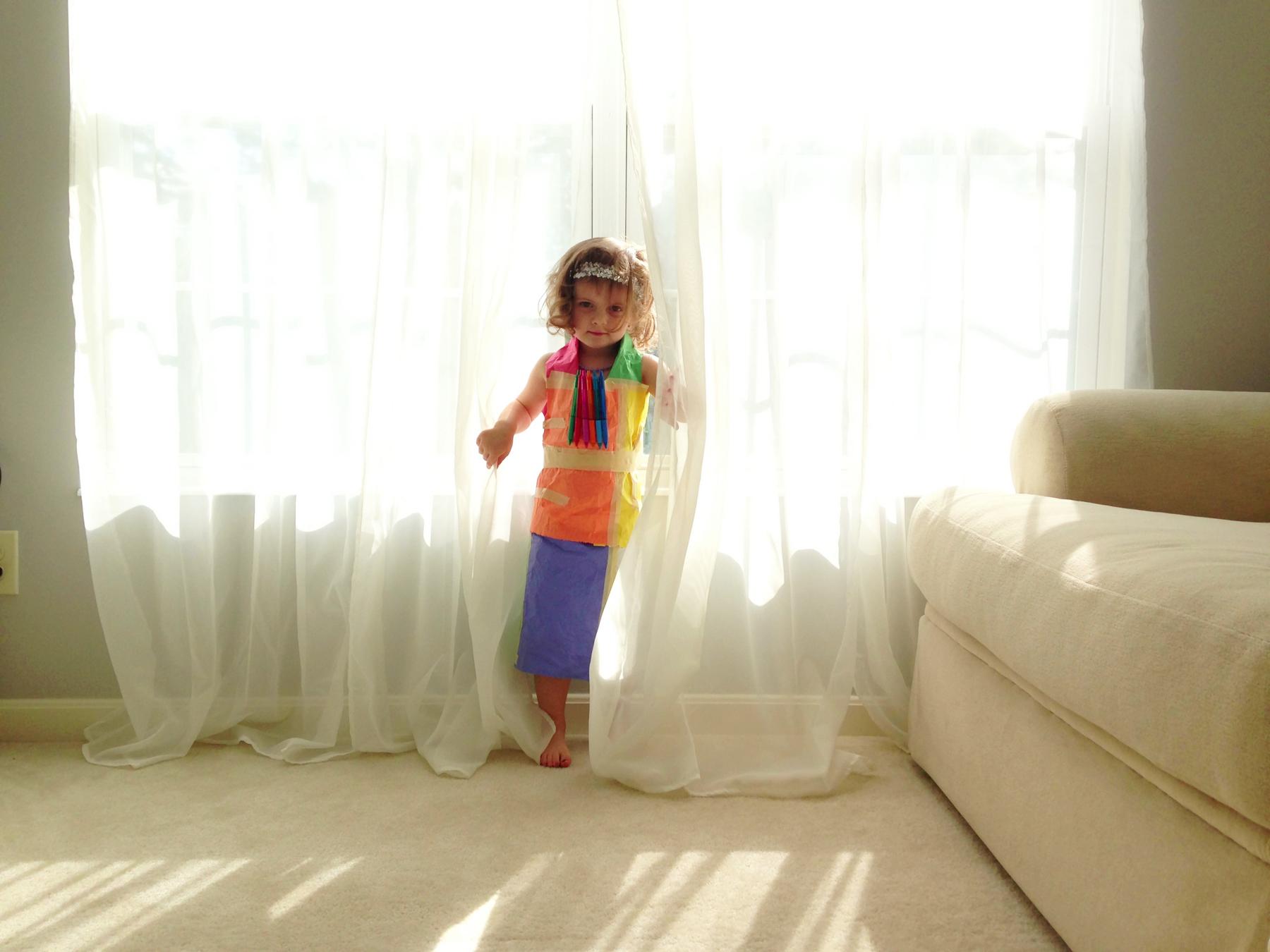 First Paper Dress