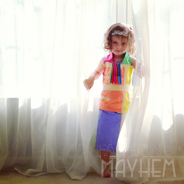 First Paper Dress | FashionByMayhem.com