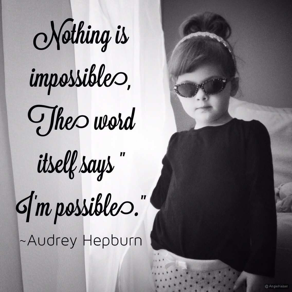 Nothing is impossible... | FashionByMayhem.com