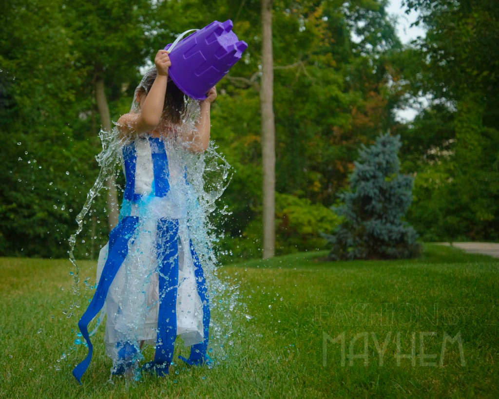 Ice Bucket Challenge Turns Mayhem Blue | FashionByMayhem.com