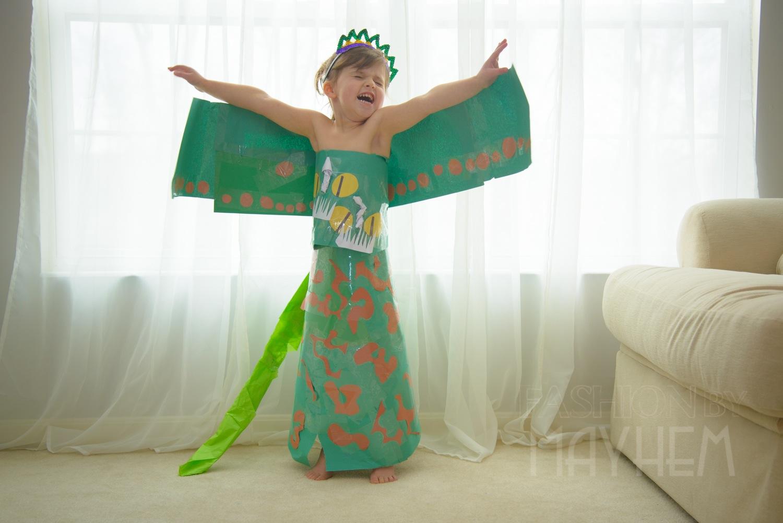 The Hideous Zippleback Dress