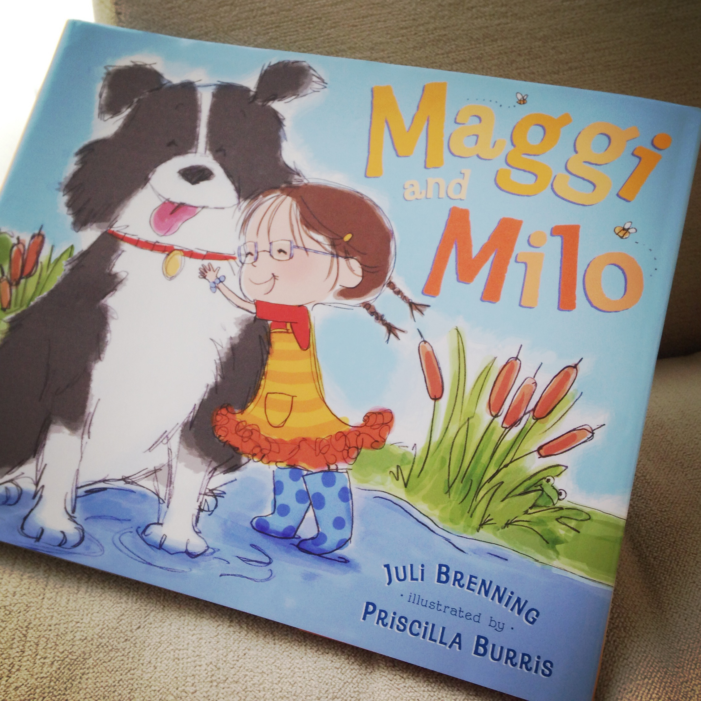Maggi and Milo = Mayhem's New Favorite Read